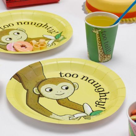 Dear Zoo Party Plates - pack of 8